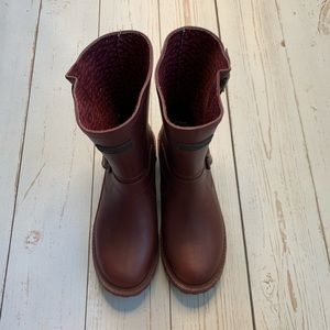 Juicy Couture - Wine Colored Rain Boots